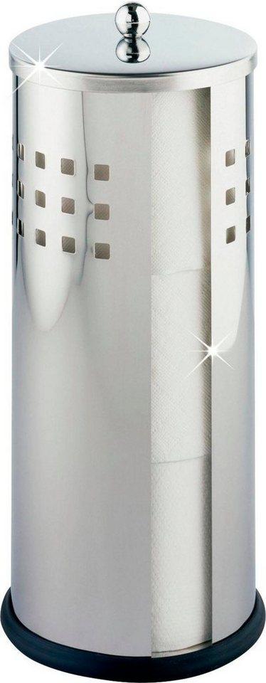 WENKO Toiletten-Ersatzrollenhalter Bosio Edelstahl rostfrei   Ersatzrolle