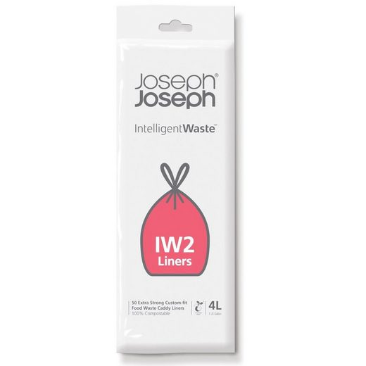JosephJoseph Mülleimer »BIO Müllbeutel IW2, 4l«, Abbaubare Biomüllbeutel, passend für Totem-Abteil