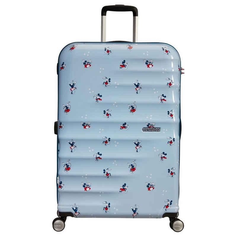 American Tourister® Trolley »Wavebreaker Disney 4-Rollen-Trolley L 77 cm«, 4 Rollen