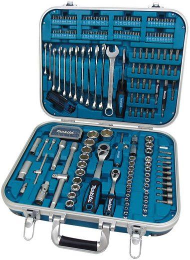 MAKITA Werkzeugset »P-90532«, 227-tlg. im Alu-/Kunststoffkoffer