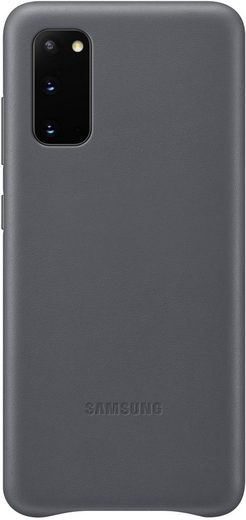 Samsung Smartphone-Hülle »Leather Cover EF-VG980« Galaxy S20