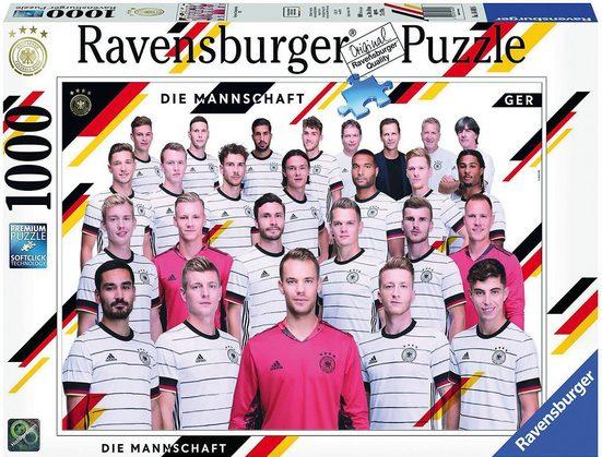 Ravensburger Puzzle »Puzzle European Championship 2020, 1.000 Teile«, Puzzleteile