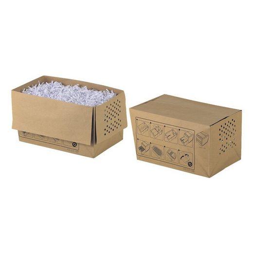 REXEL Aktenvernichter-Auffangbeutel, 20 Liter, recycelbar