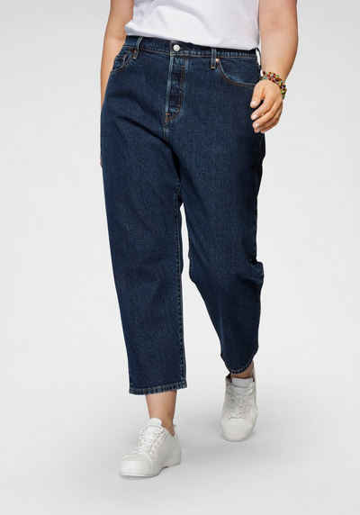 Levi's® Plus Straight-Jeans »501 Crop« High Waist