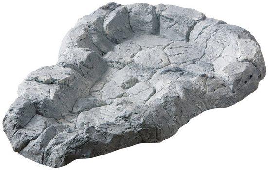 HEISSNER Bachlaufschale , BxTxH: 53x73x7 cm, felsgrau