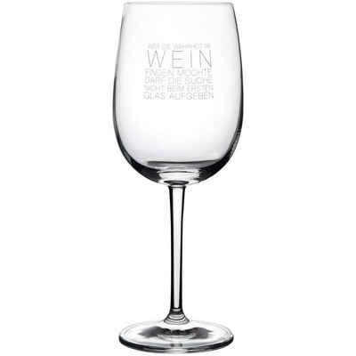 """Räder Design Rotweinglas »WEINGLAS """"WAHRHEIT IM WEIN""""«"""