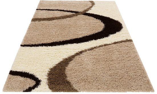 Hochflor-Teppich »Ankara«, my home, rechteckig, Höhe 52 mm, weicher Flor