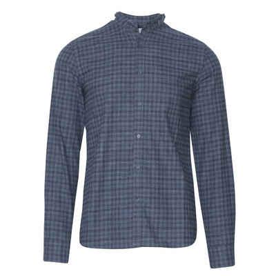 hans Trachtenhemd »Hadersdorf blau/grau«
