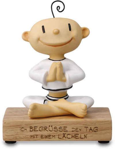 """Goebel Dekofigur »Figur Der kleine Yogi - """"Ich begrüße den Tag""""« (1 Stück)"""