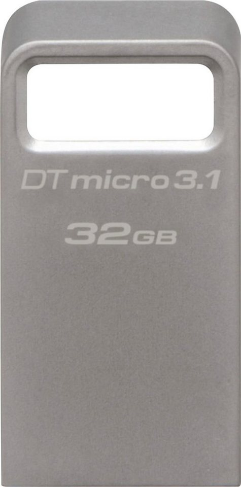 Kingston »DataTraveler Micro 3.1« USB-Stick (USB 3.1, Lesegeschwindigkeit 100 MB/s)