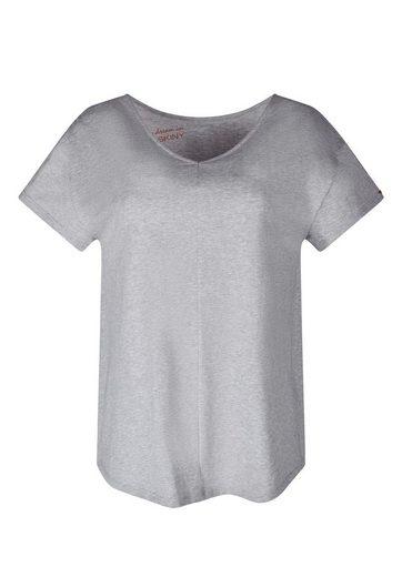 Skiny Pyjamaoberteil Weicher Material-Mix