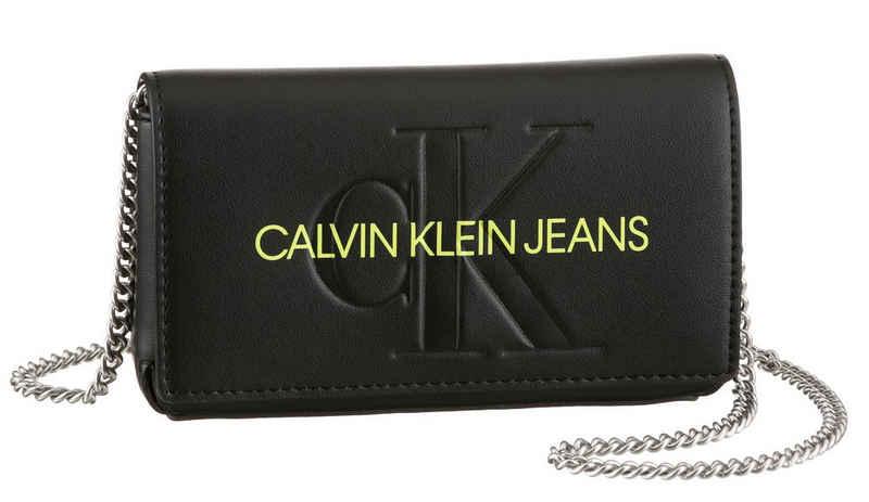 Calvin Klein Jeans Mini Bag »SCULPTED MONO PHONE XBODY«, mit neon Logoschriftzug
