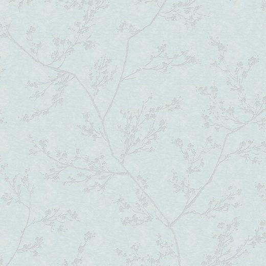SUPERFRESCO EASY Vliestapete »Luxus«, Blau, 10mx52 cm