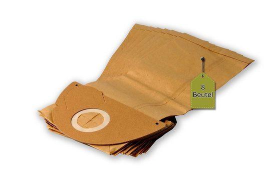 eVendix Staubsaugerbeutel Staubsaugerbeutel passend für Hoover Aqua 15, 8 Staubbeutel ähnlich wie Original Hoover Staubsaugerbeutel H 33, passend für Hoover