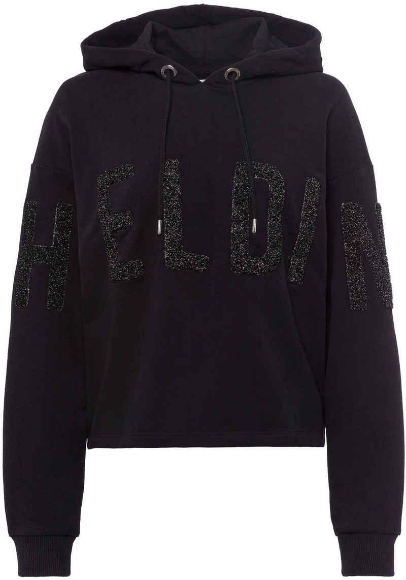 Herrlicher Sweatshirt »HAVEN« mit 3D-Applikation