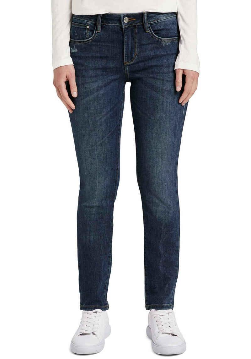 TOM TAILOR Slim-fit-Jeans »Alexa« mit leichten Used-Effekten