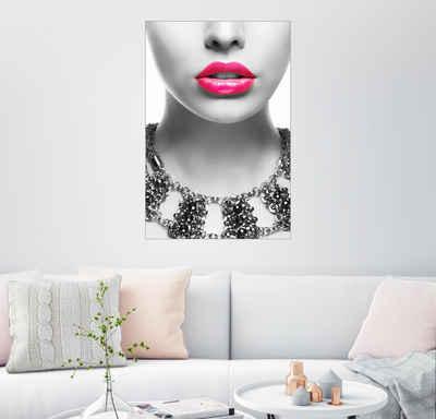Posterlounge Wandbild, Pink Kiss