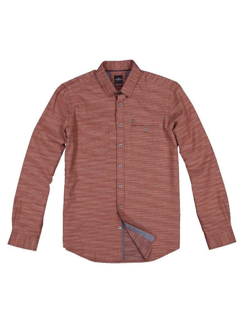 Engbers Langarmhemd »Langarm-Hemd leicht gemustert«