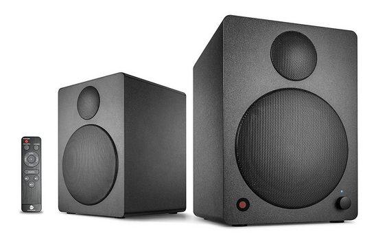 Wavemaster Cube Neo Black Regal System Bluetooth Regal-Lautsprecher