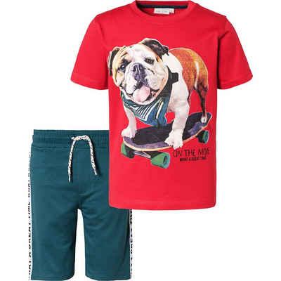 MyToys-COLLECTION T-Shirt »Set T-Shirt + Sweatshorts für Jungen von ZAB kids«