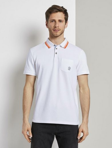 TOM TAILOR Poloshirt »Poloshirt mit Brusttasche«