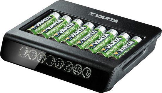 VARTA »VARTA LCD Multi Charger+ für 8 AA/AAA Akkus mit Einzelschachtladung, Sicherheitstimer, Kurzschlussschutz und LCD Anzeige« Akku-Ladestation