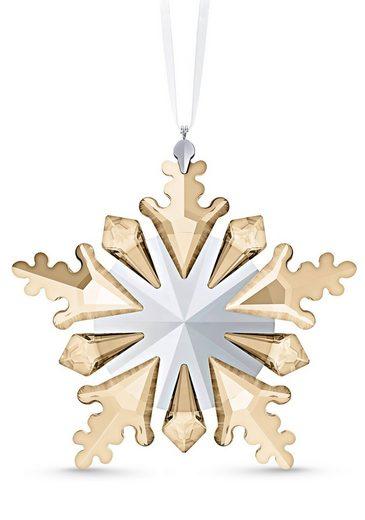 Swarovski Dekofigur »Winterliches Funkeln Ornament, 5535541« (1 Stück), Swarovski® Kristall