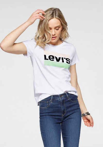 Levi's® T-Shirt »Graphic Sport Tee Pride Edition« Logoprint auf der Brust