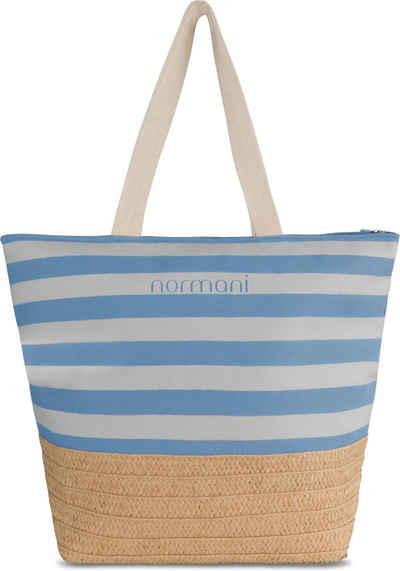 normani Strandtasche »Große Strandtasche Mackay«, Schultertasche mit extra großem Volumen