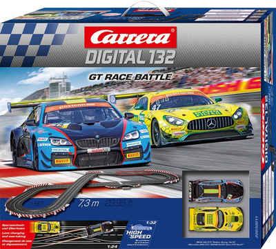 Carrera® Autorennbahn »Carrera® Digital 132 - GT Race Battle« (Streckenlänge 7,3 Meter)