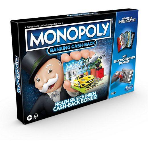 Hasbro Spiel, »Monopoly Banking Cash-Back«