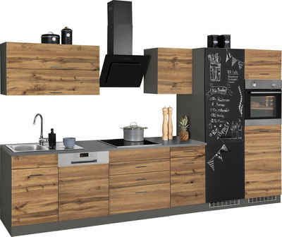 HELD MÖBEL Küchenzeile »Trier«, mit E-Geräten, Breite 360 cm