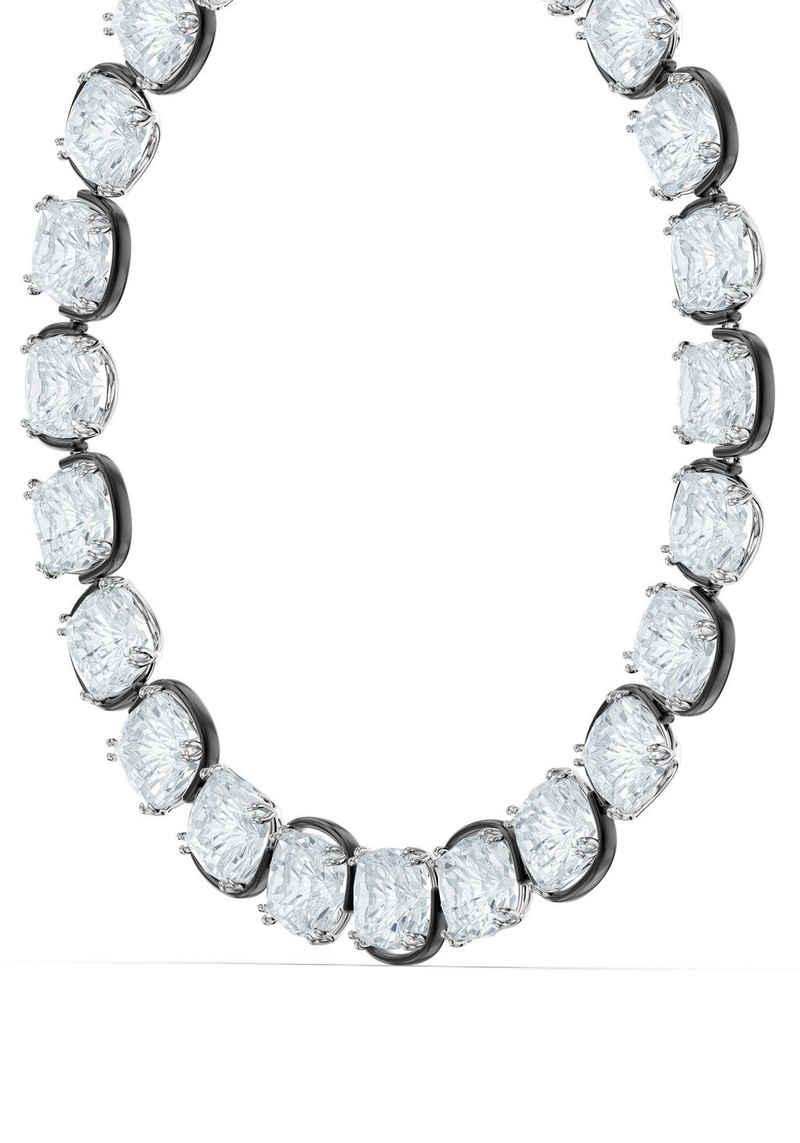 Swarovski Collier »Harmonia Halsband, Kristalle im Cushion-Schliff, 5600942«, mit Swarovski® Kristall