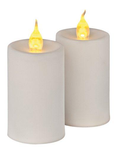 VBS LED Dekolicht »LED Kerzen mit Flackerlicht«, 2 Stück