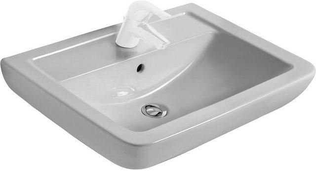 Waschtische - Ideal Standard Waschbecken »Eurovit Plus«, eckig, 65 cm  - Onlineshop OTTO