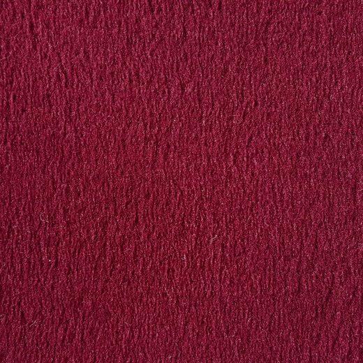 Teppichboden »Oliveto bordeaux«, Andiamo, rechteckig, Höhe 10 mm, Meterware, Breite 500 cm, uni, schallschluckend