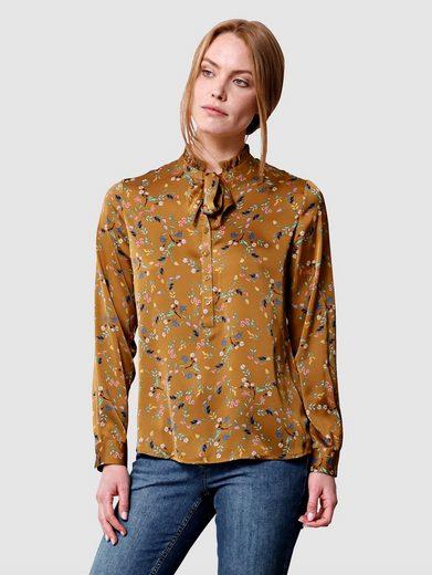 Laura Kent Klassische Bluse mit Blumendesign