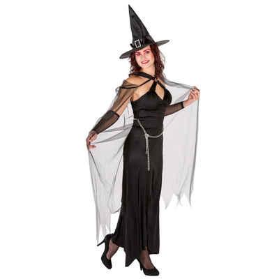 tectake Hexen-Kostüm »Frauenkostüm Königin der Finsternis«