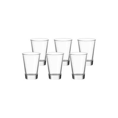 LEONARDO Schnapsglas »CIAO Stamper 4 cl 6er Set«, Glas