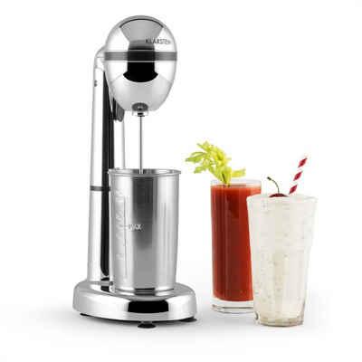 Klarstein Standmixer van Damme Drink-Mixer Shaker 100W 450 ml Edelstahl-Mixbecher silber, 100 W