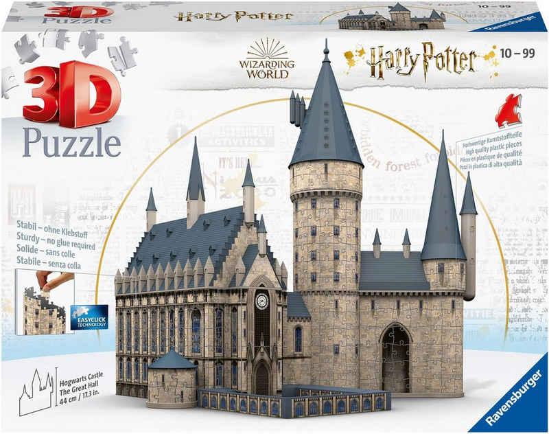 Ravensburger 3D-Puzzle »Harry Potter Hogwarts Schloss - Die Große Halle«, 540 Puzzleteile, FSC® - schützt Wald - weltweit; Made in Europe