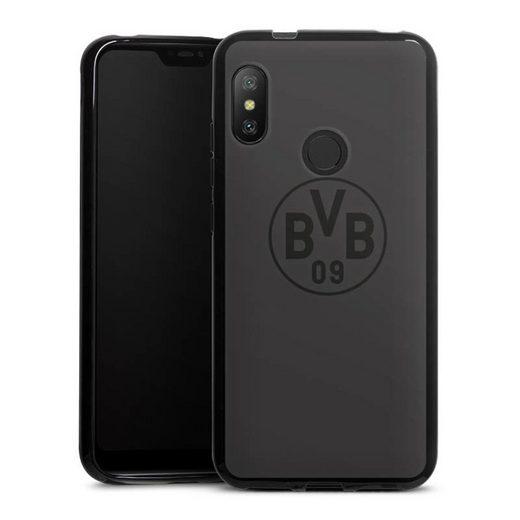 DeinDesign Handyhülle »BVB Grau« Xiaomi Mi A2 Lite, Hülle Borussia Dortmund Logo BVB