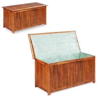 vidaXL Gartenbox »vidaXL Gartenbox 117×50×58 cm Massivholz Akazie«