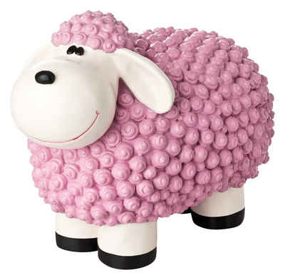 1PLUS Gartenfigur »1PLUS Bunte Schafe aus Polyresin,in versch. Farben«