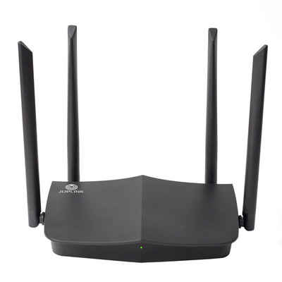 OUBO »WiFi 6 Router,Mesh,Dual Bänder,OFDM MIMO 1800 Mbps« WLAN-Router, WLAN-System; Abdeckung bis zu 150qm; Dualband;