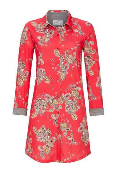 Ringella Nachthemd »Ringella Damen Nachthemd Paisley-Dessin« auch in großen Größen