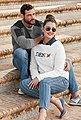 Arizona Jeansbluse »mit Druckknöpfen in Perlmuttoptik« und Krempelärmeln, Bild 19
