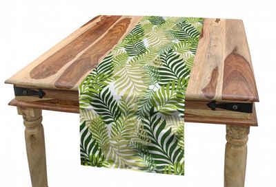 Abakuhaus Tischläufer »Esszimmer Küche Rechteckiger Dekorativer Tischläufer«, Frühling Tropic exotische Palmen