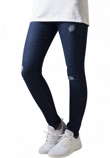 URBAN CLASSICS Slim-fit-Jeans »Ripped Denim Pants« Jeanshose mit Stretch
