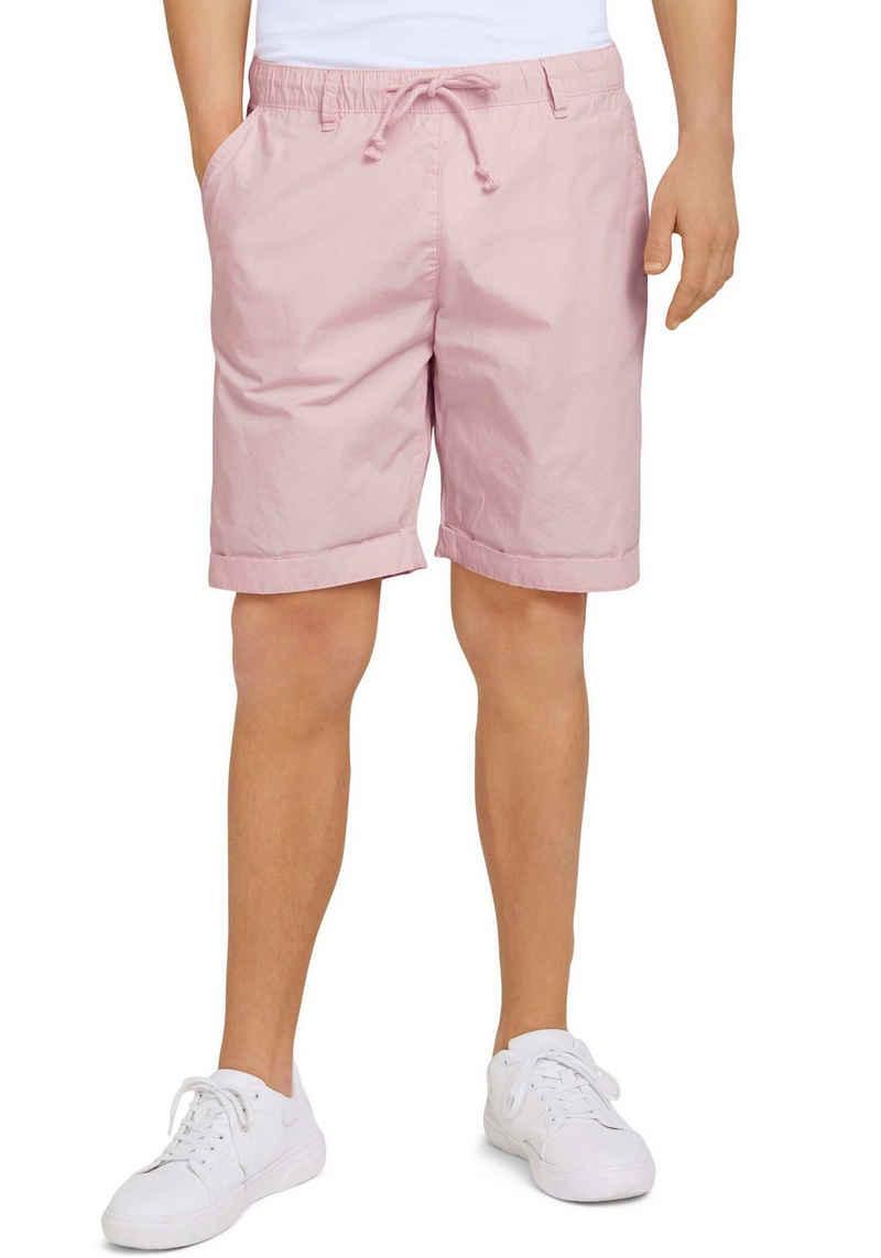 TOM TAILOR Denim Shorts mit einem elastischer Bund und Kordelzug